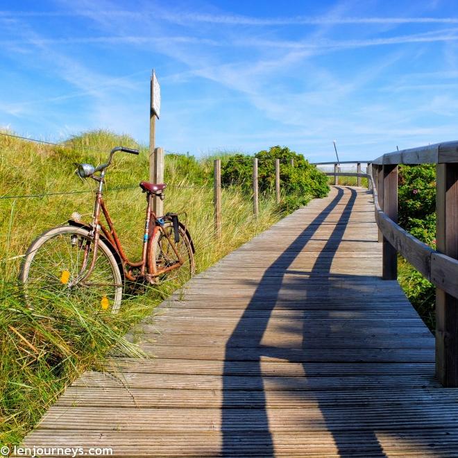 Walking path on Sylt Island