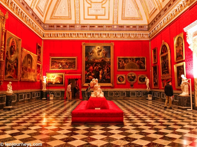 Exhibition in Orangery Palace