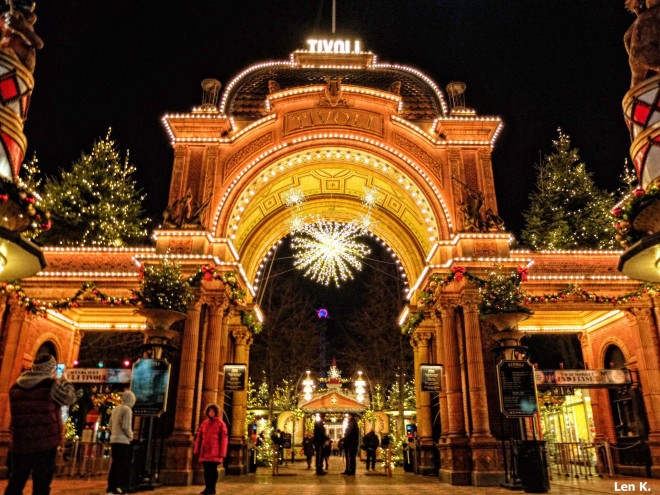 Tivoli's main entrance