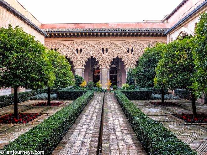 The garden of