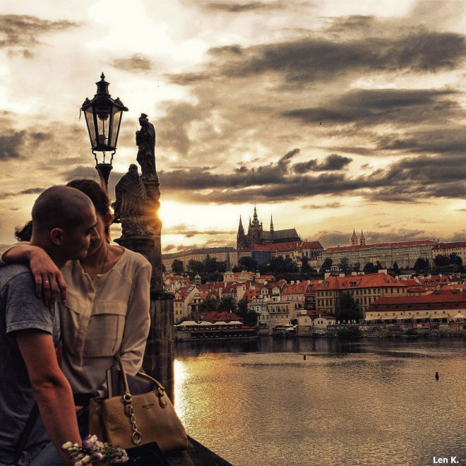 The lovers of Prague