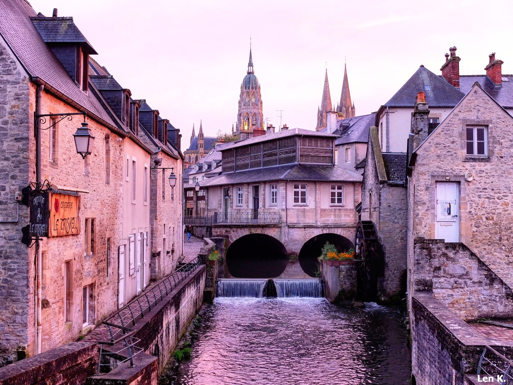 Bayeux Old Town