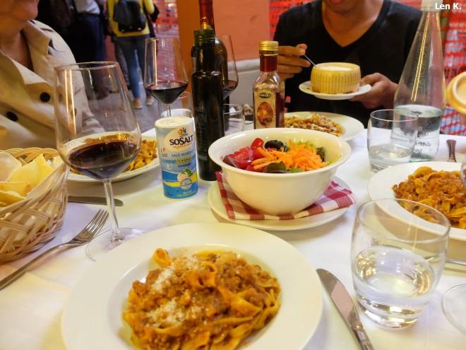 Tagliatelle al ragù in Bologna
