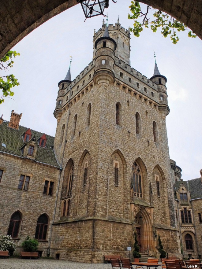 Marienburg's central tower