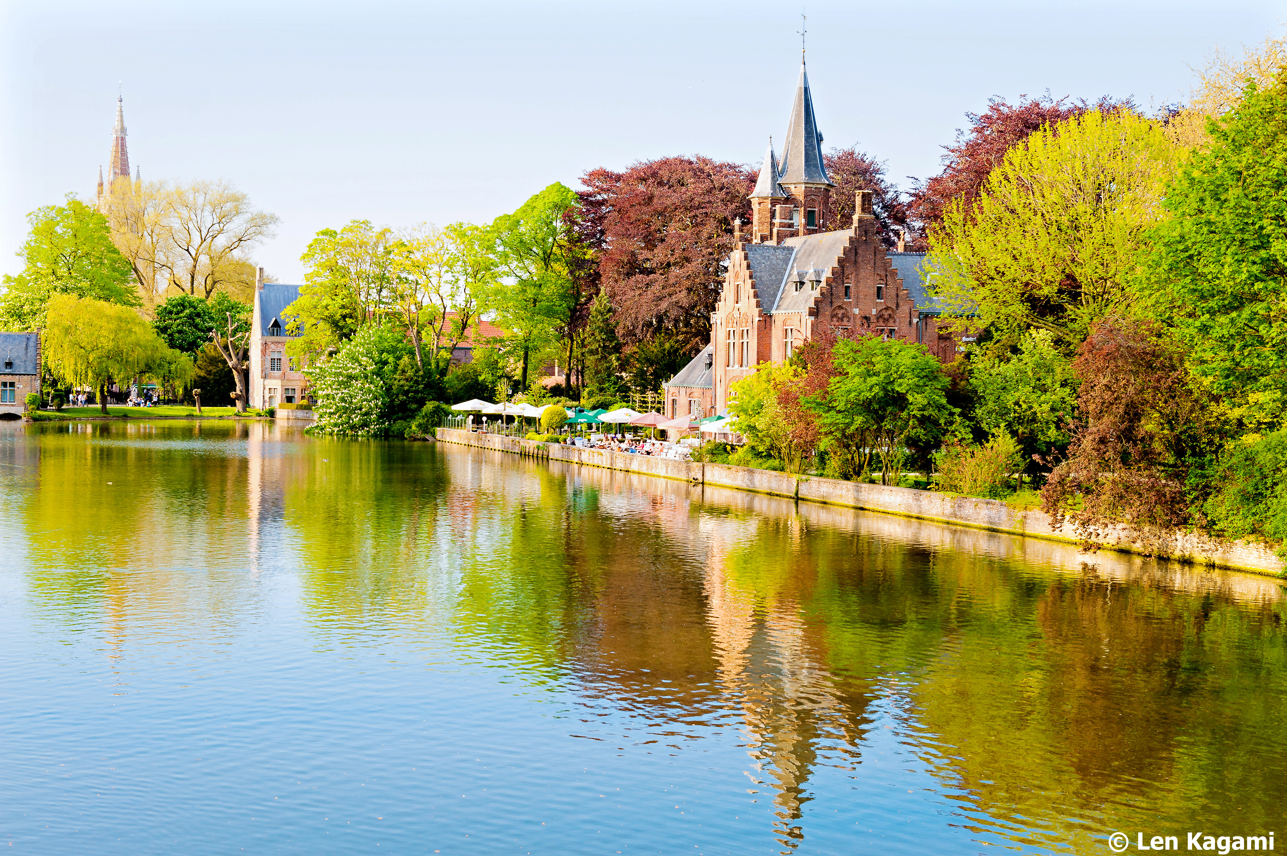Minnewater in Bruges