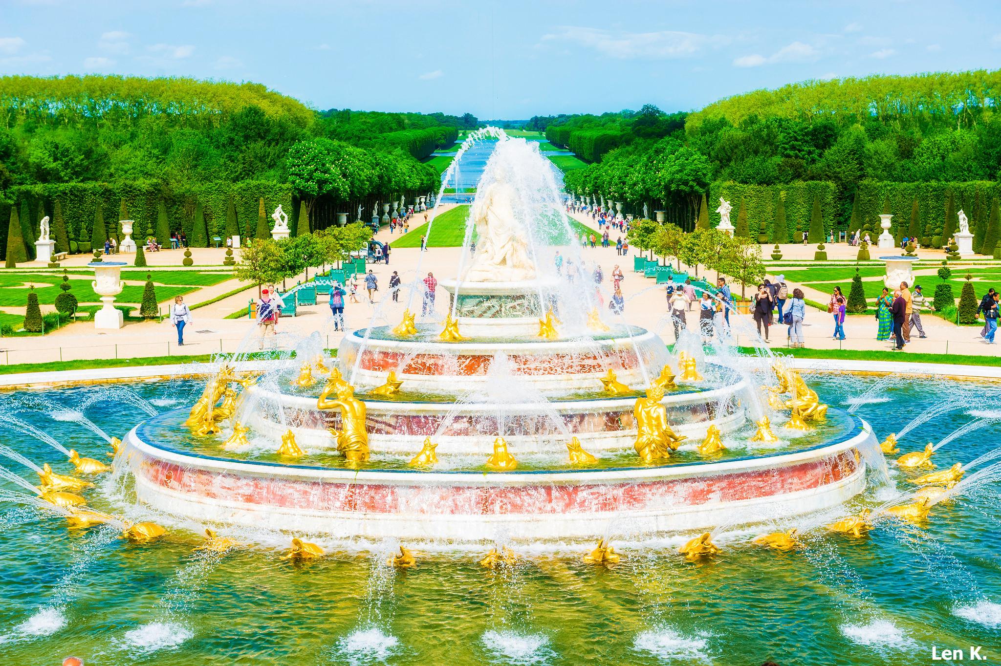 Jardin du château de Versailles
