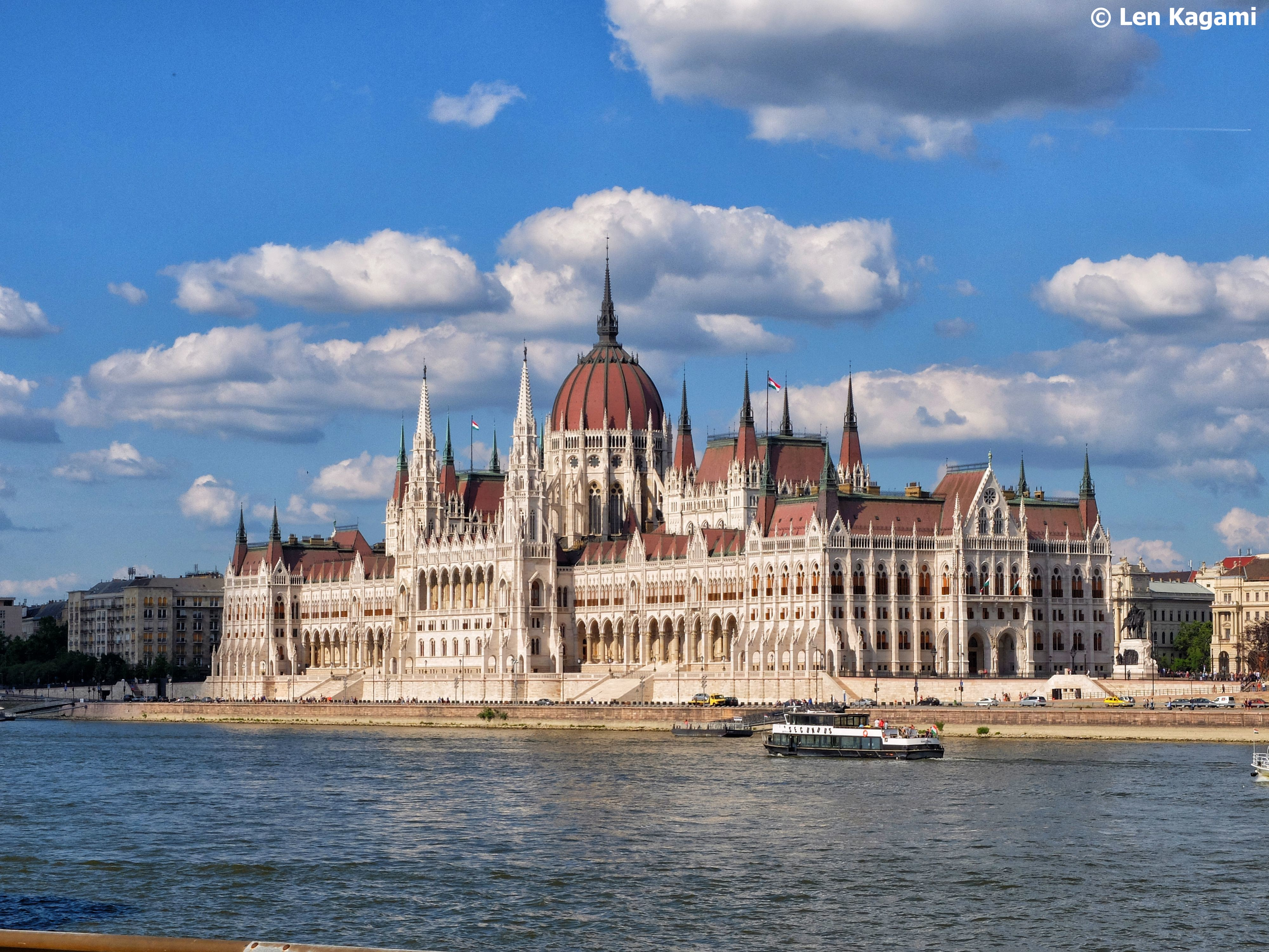View of Parliament Building from Buda