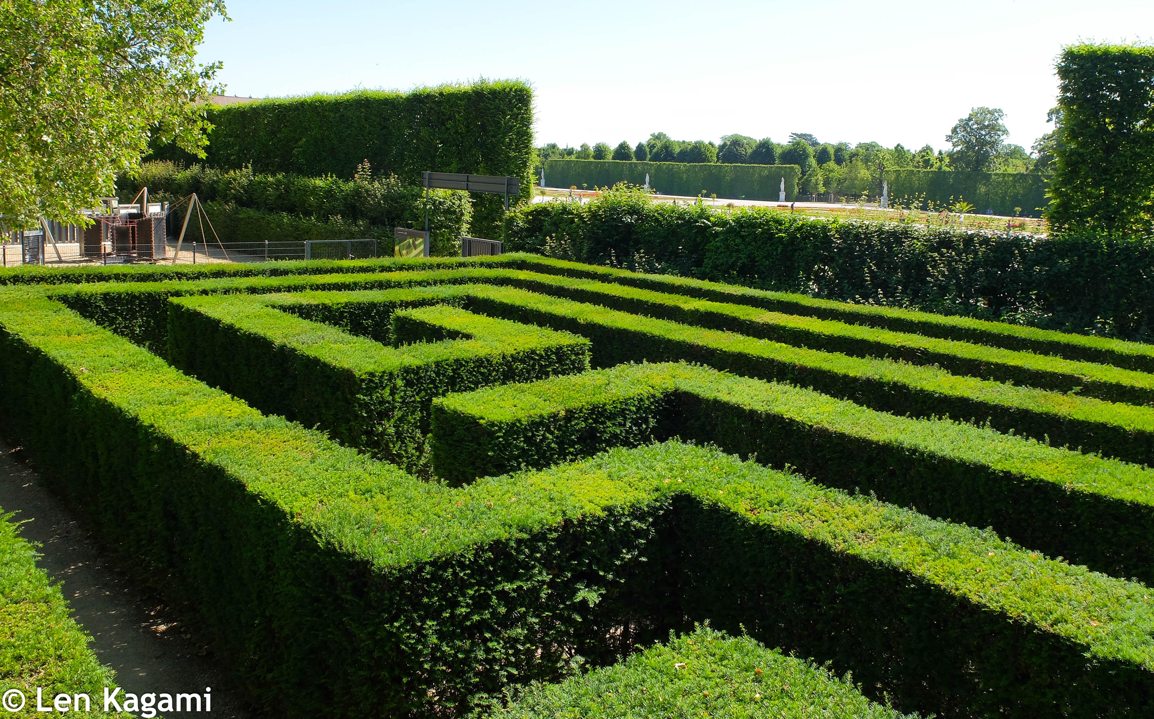 Irrgarten (Maze) in Schönbrunn Park