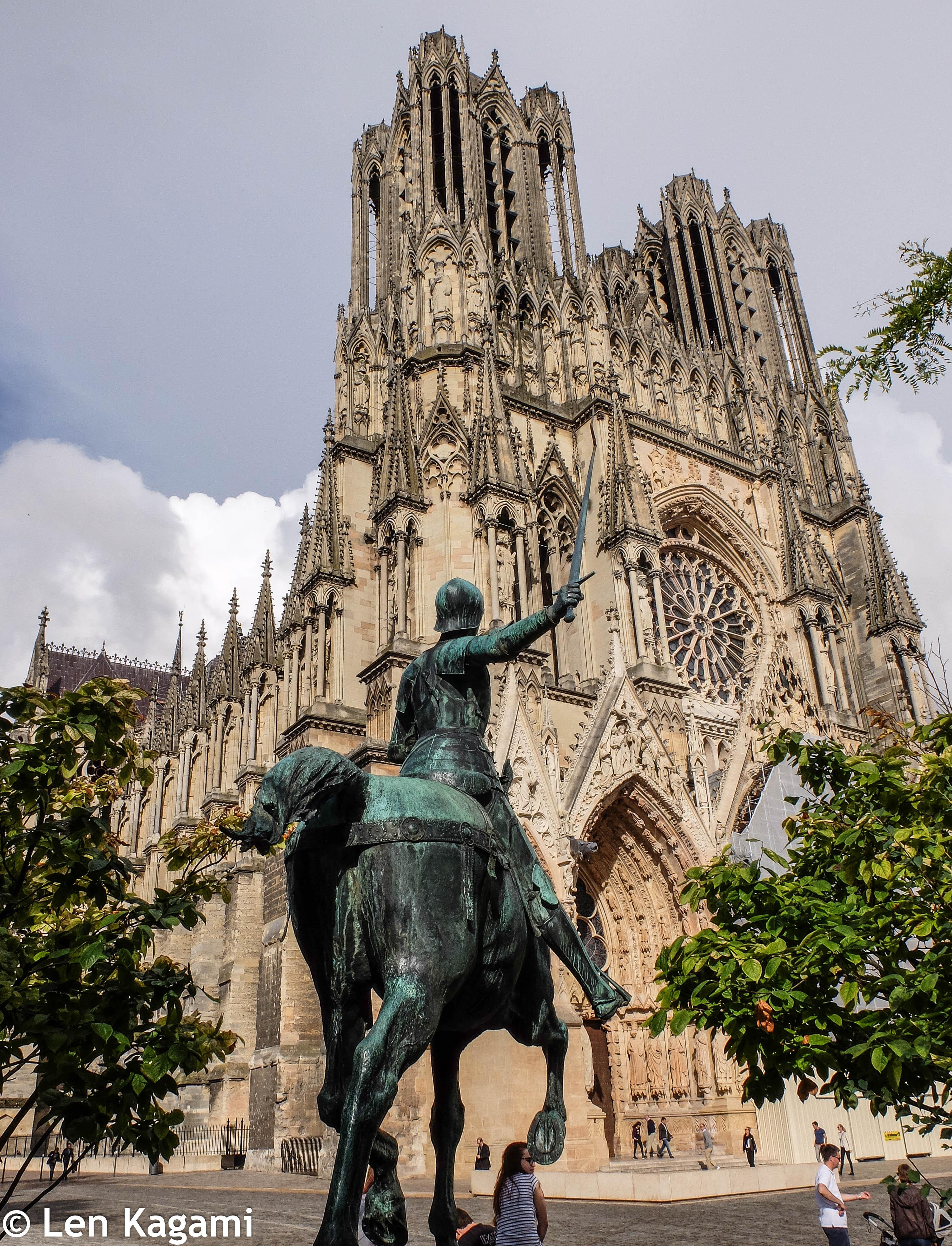 Joan of Arc & Notre Dame de Reims