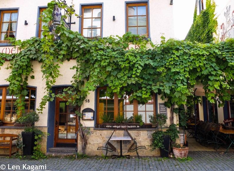 A quite tavern in Bacharach
