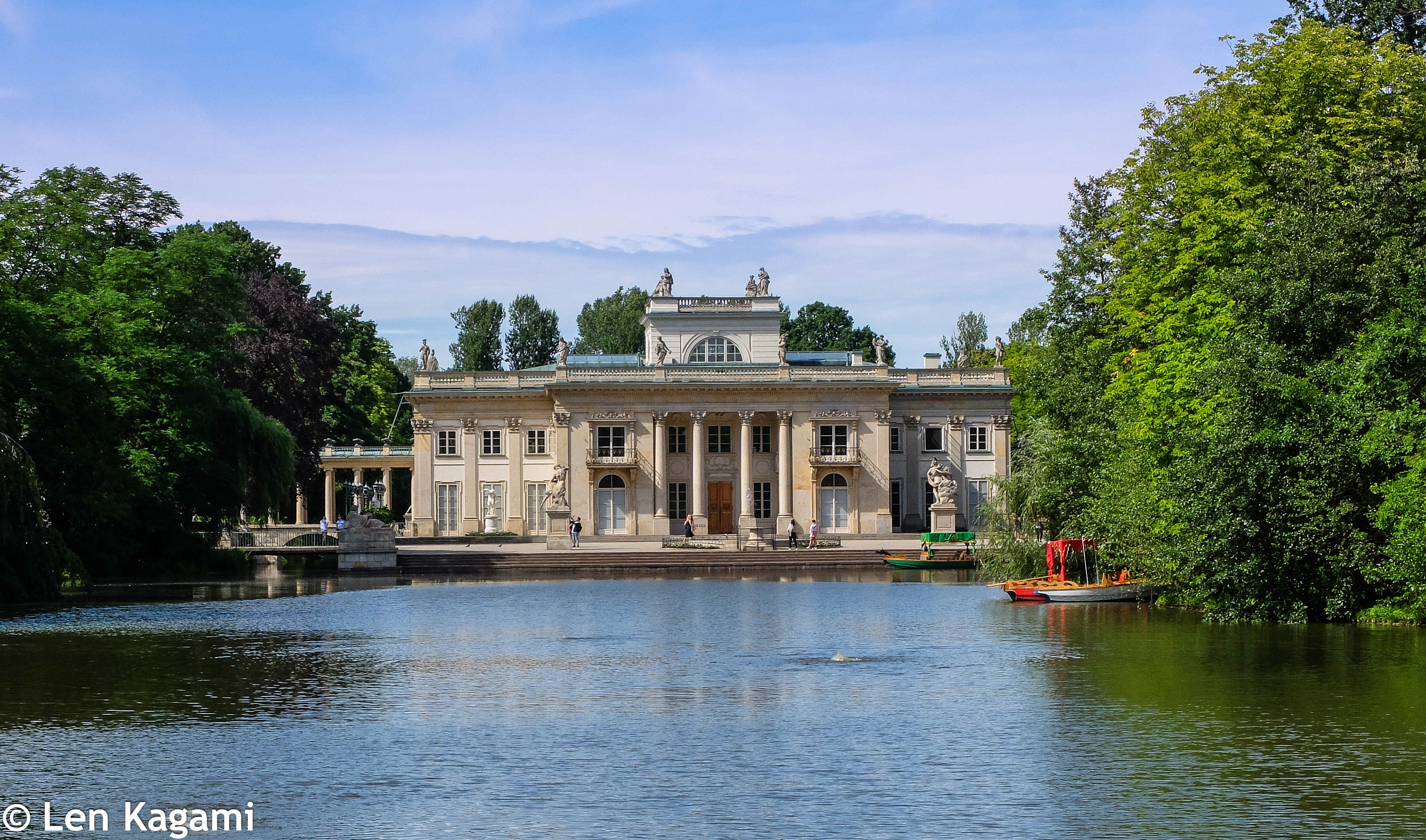Palace in the Lazienki Park