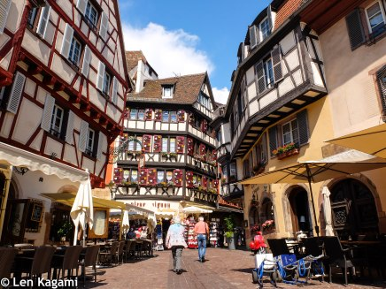 The street of Colmar