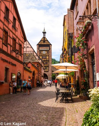 The street of Riquewihr