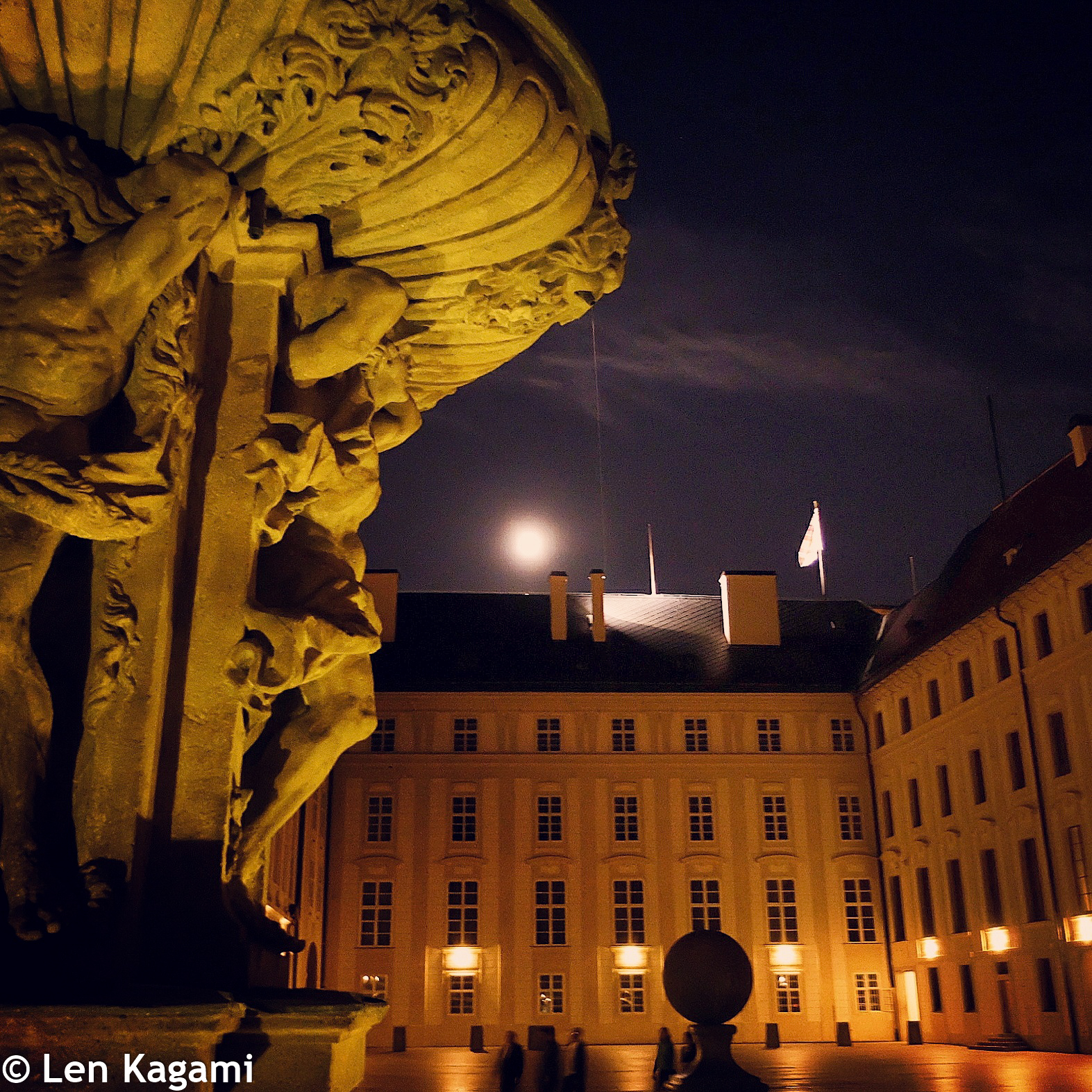 Night at Prague Castle