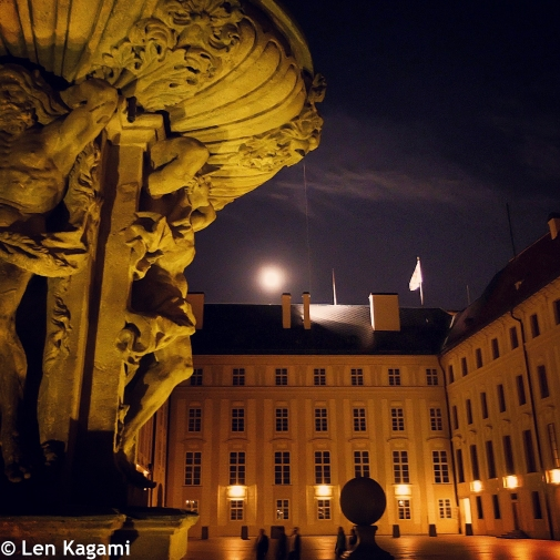 Night at Prague Castle