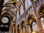 Inside Strasbourg Cathedral