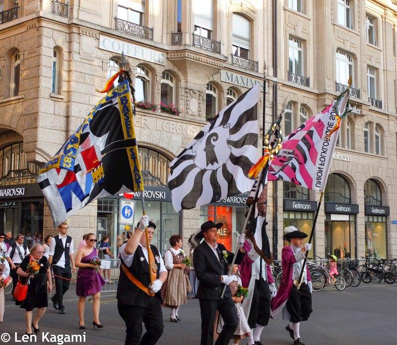Parade at Markplatz