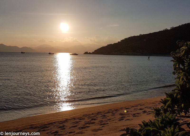 Sunset at Ninh Van Bay