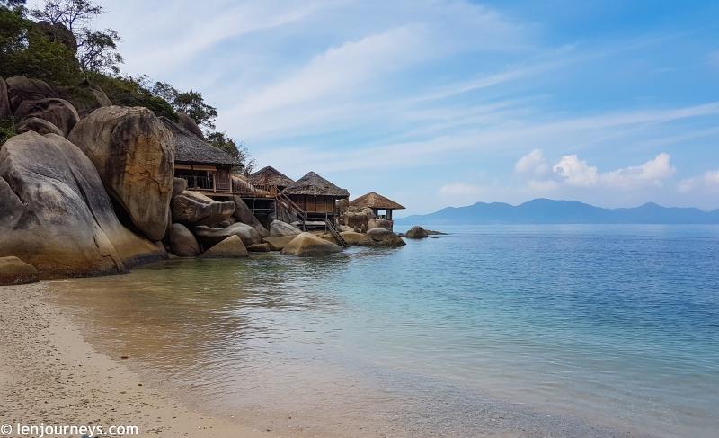 Villas on the rock