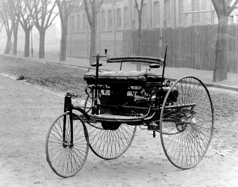 1885 Benz Tri-car