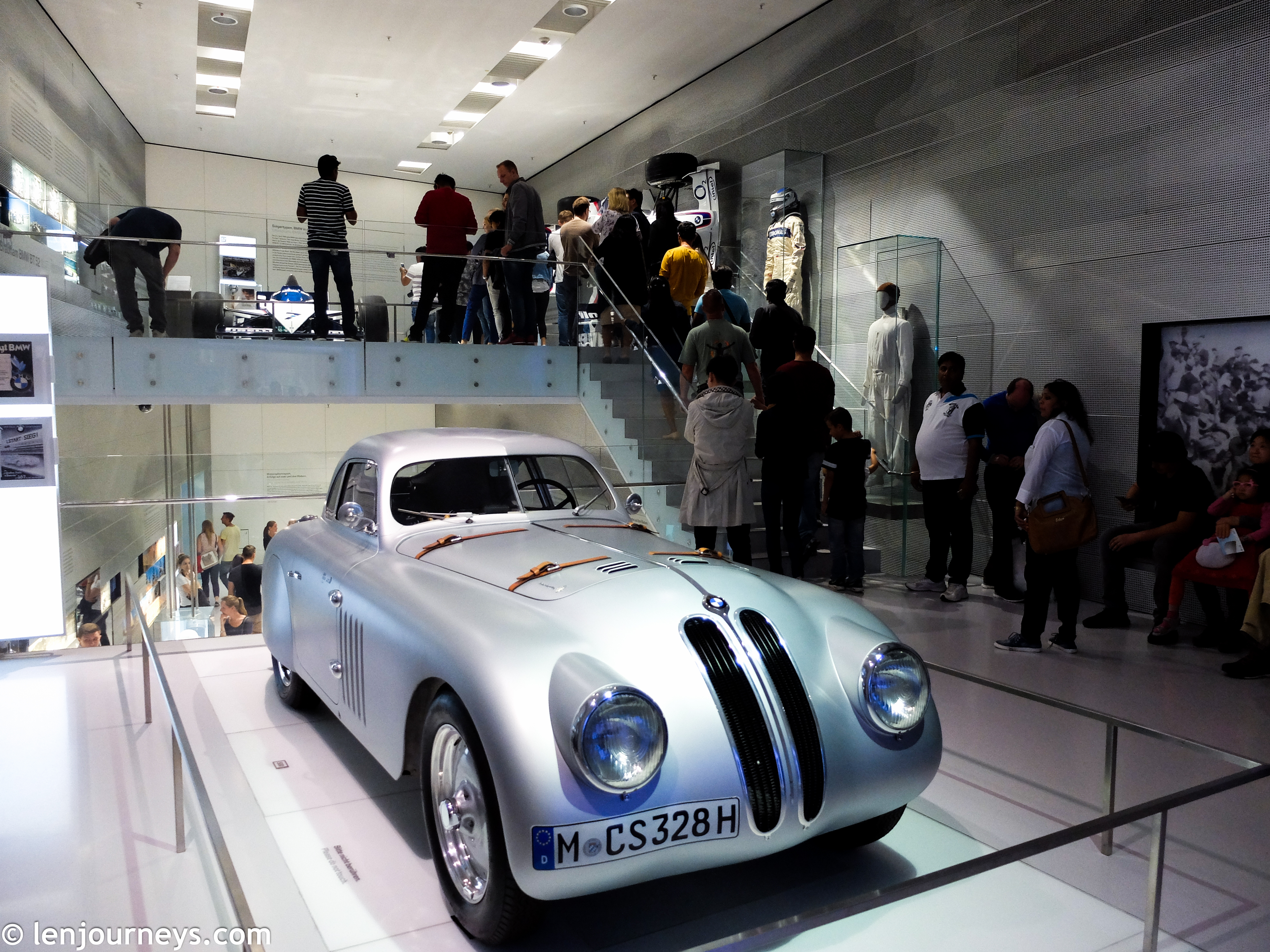 A model in the BMW Museum