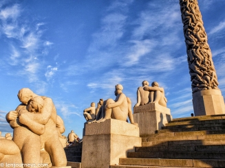 Statues in Vigeland Park