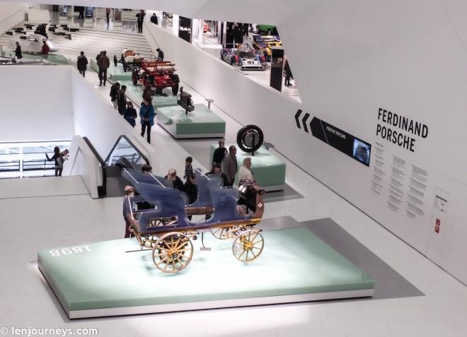 The first Porsche