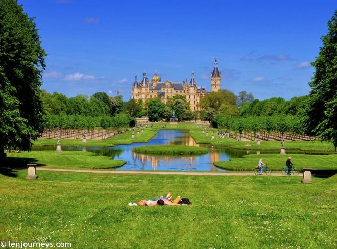 Schwerin Palace garden