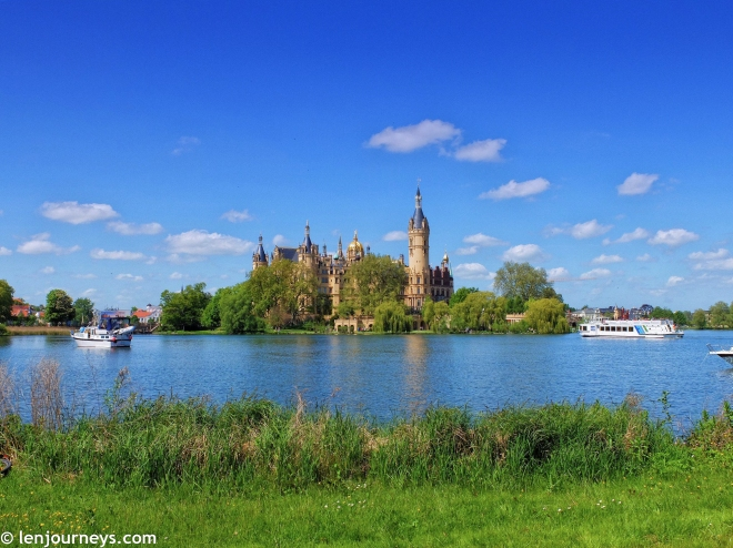 The floating palace of Schwerin