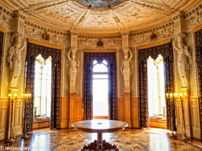 The black chamber in Schwerin Palace