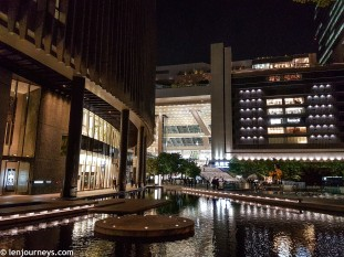 The new Grand Front in front of Osaka Station