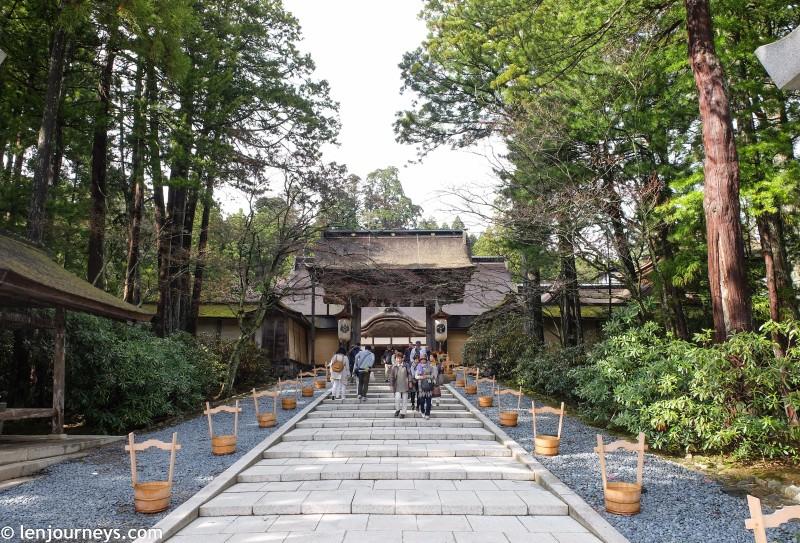 Entrance to Kongobuji
