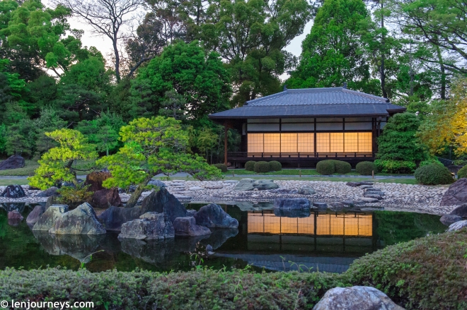 The beautiful garden of Nijō Castle