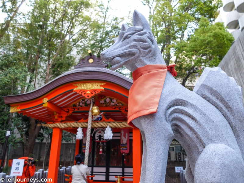 Inari Shrine Kobe