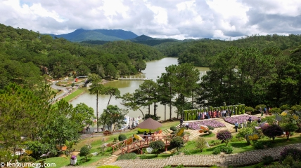 The Valley of Love - a heart-shaped valley in Dalat