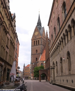 The Marktkirche in Gothic style