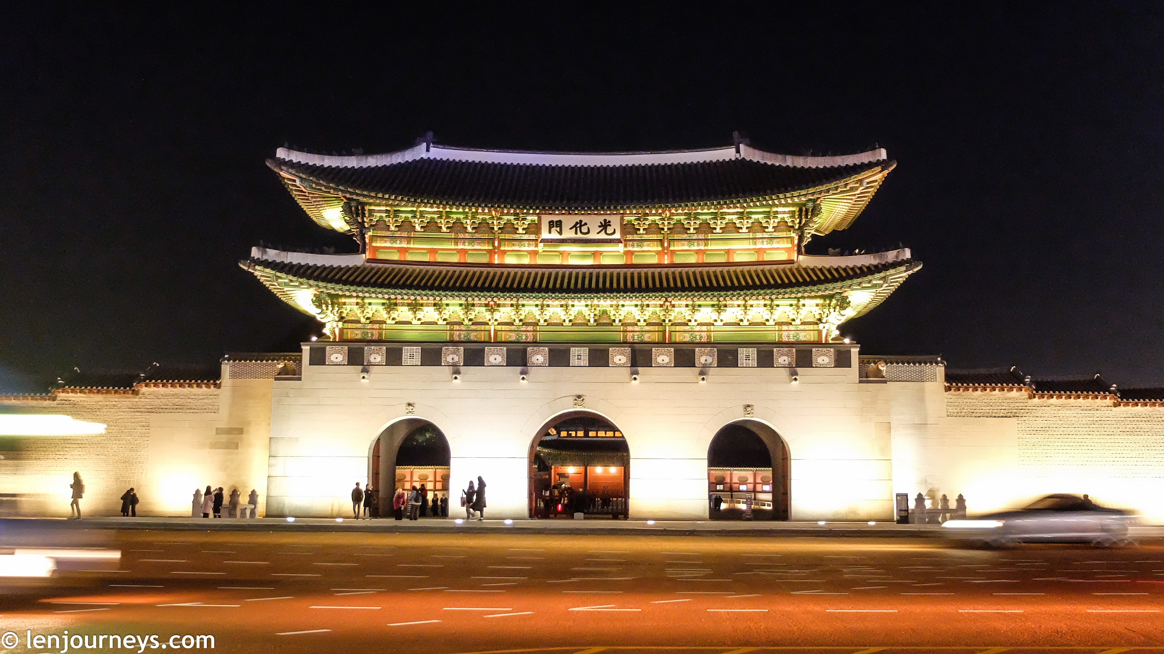 Gwanghwamun - The palace's main entrance