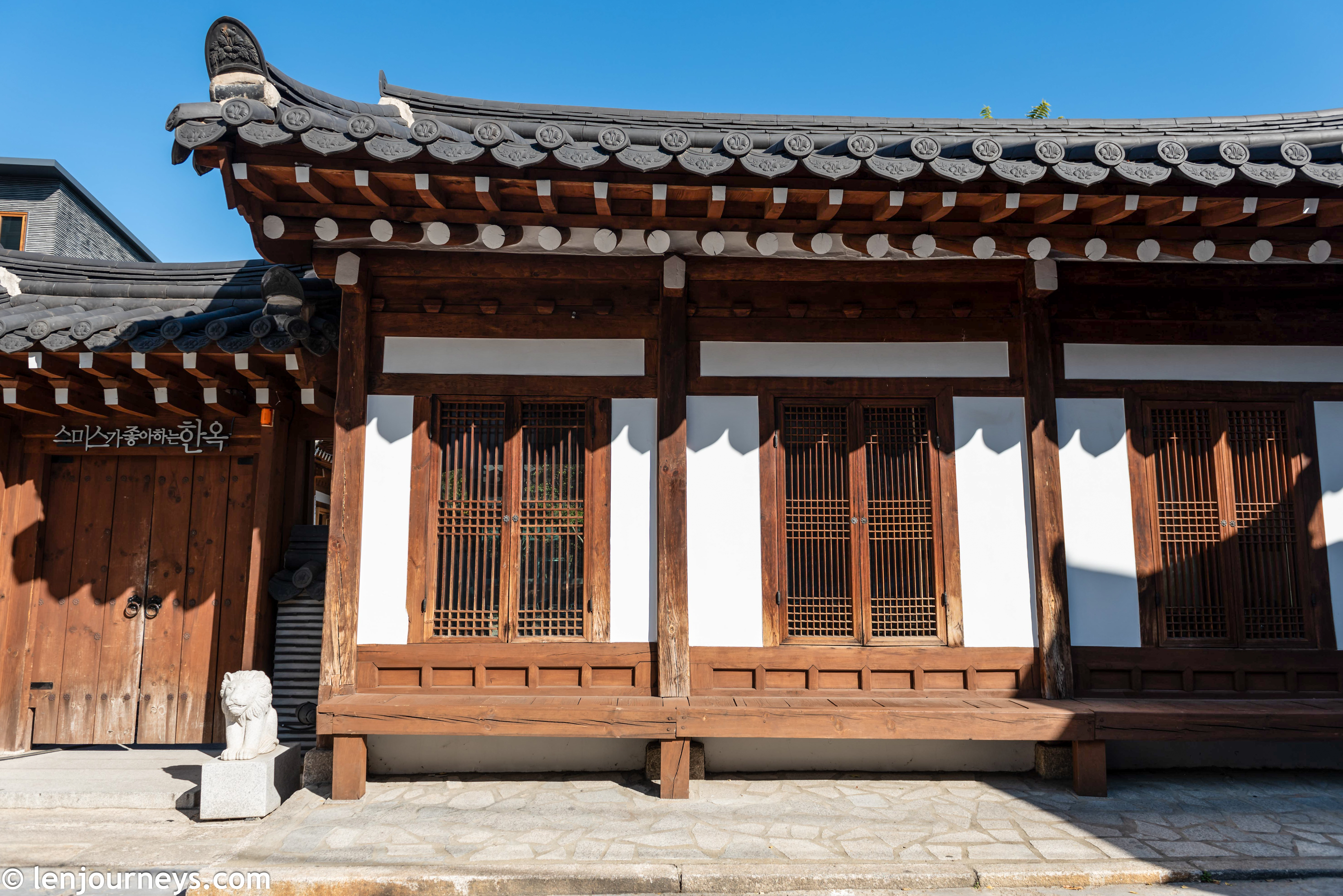 A typical hanok