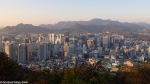 View of Seoul downtown