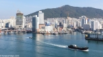The old harbour of Busan