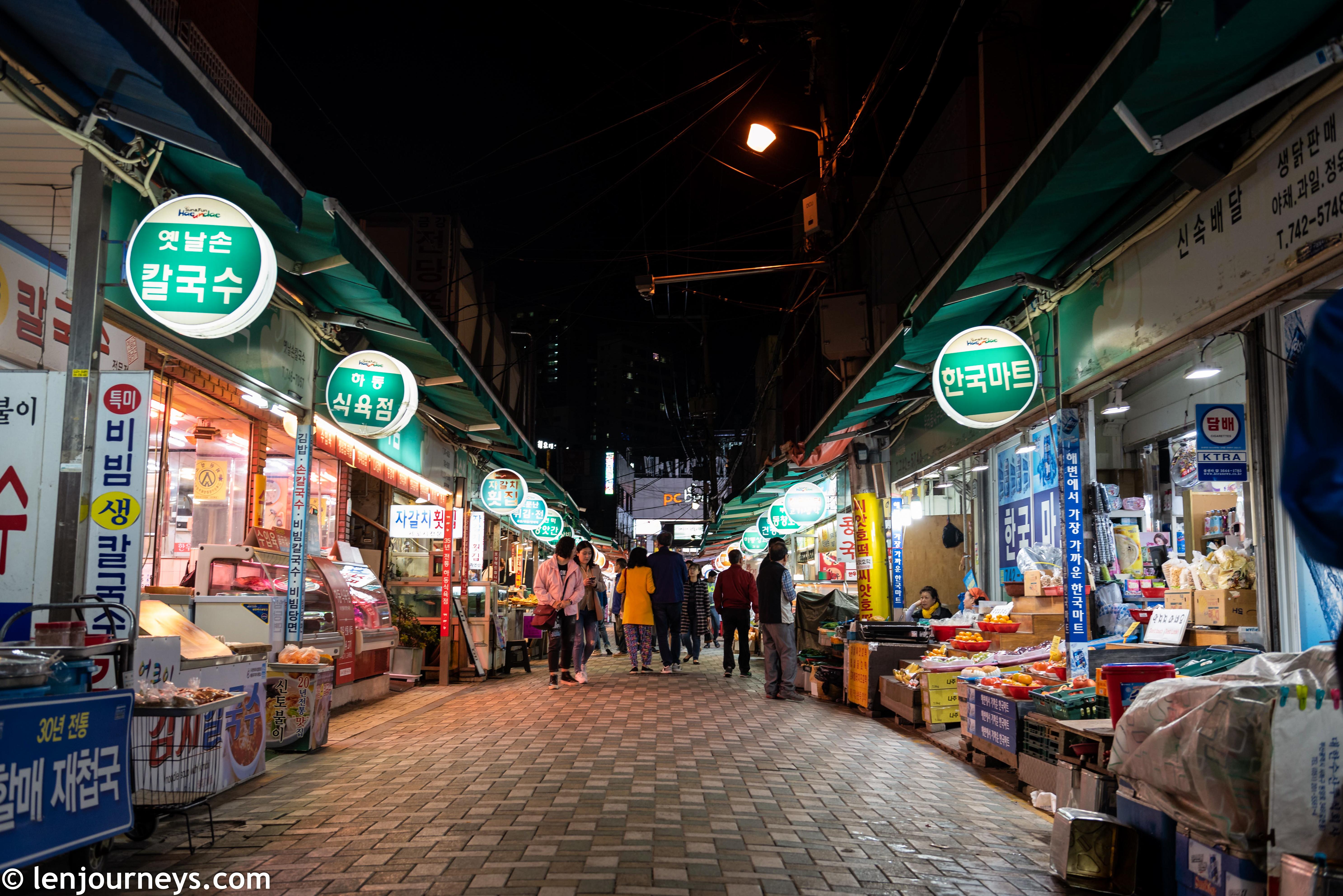 Market in Haeundae