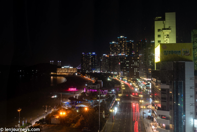 Haeundae by night