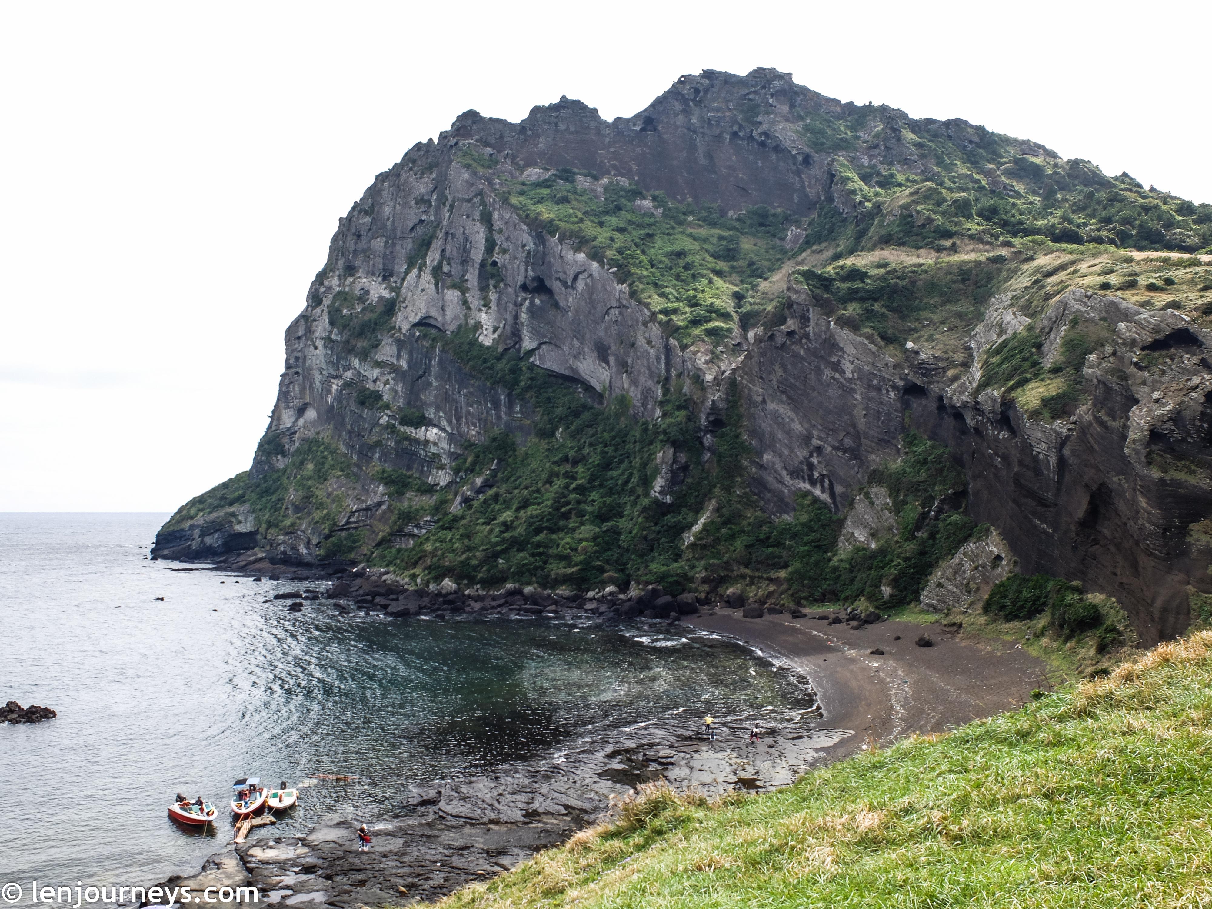 Dramatic rocky outcrop