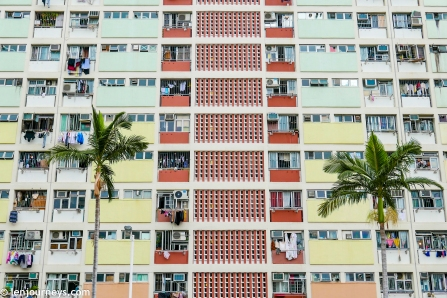 Choi Hung Estate - One of the most colourful spots in Hong Kong