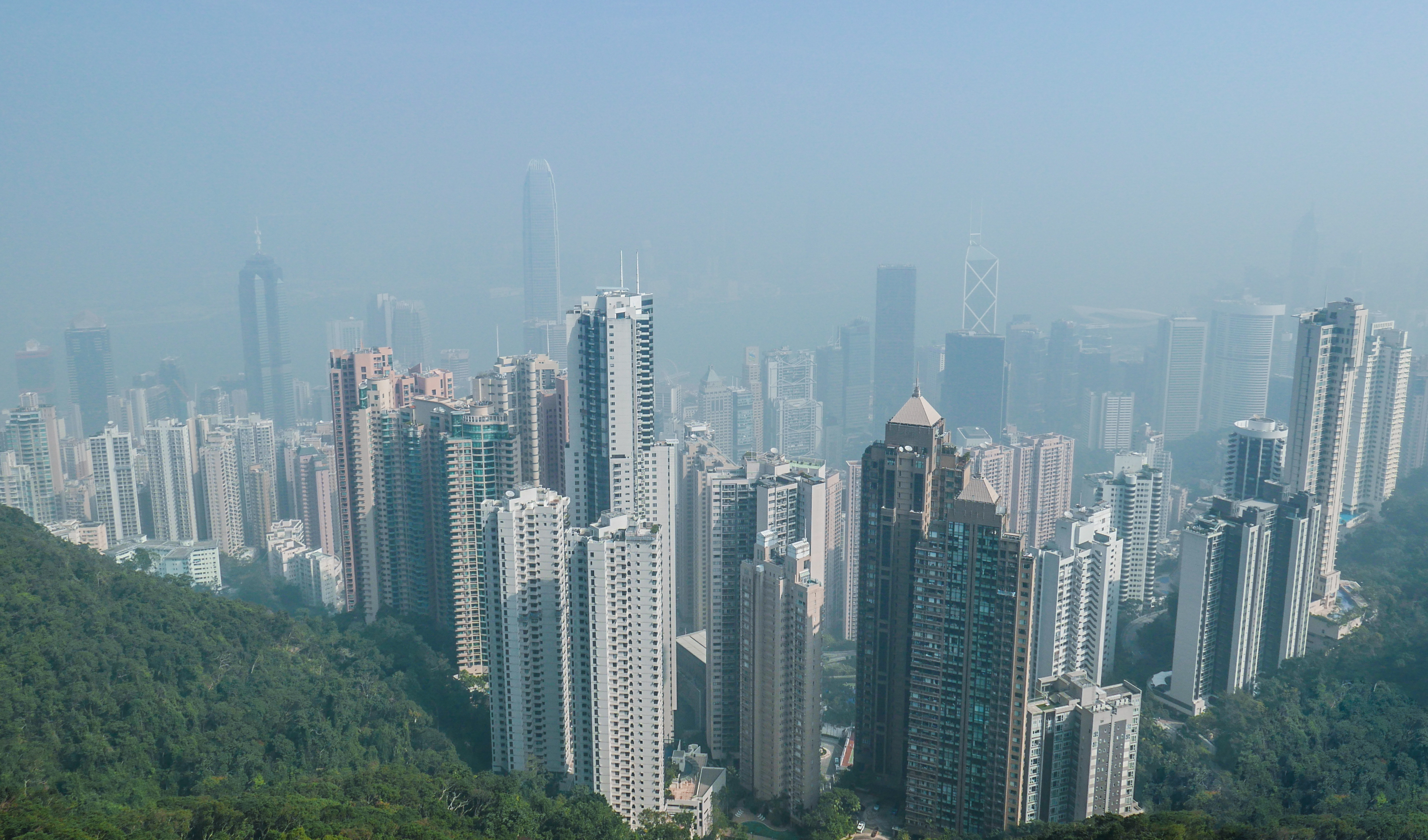 View of the city from Victoria Peak