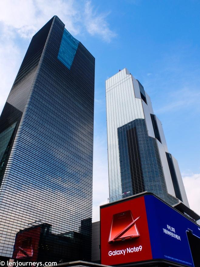 Gangnam Skyscrapers