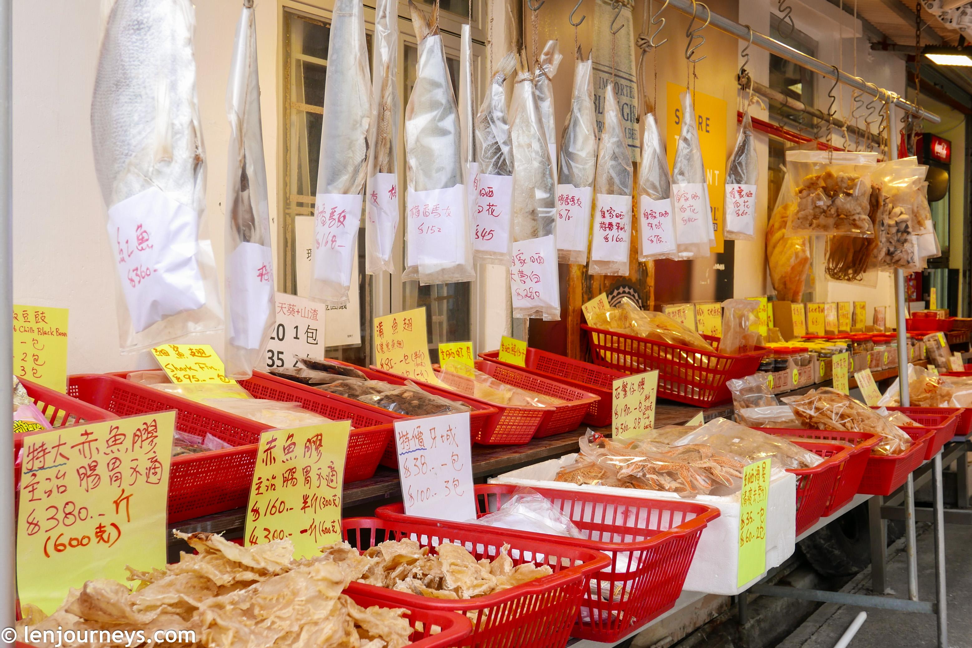Dried seafood