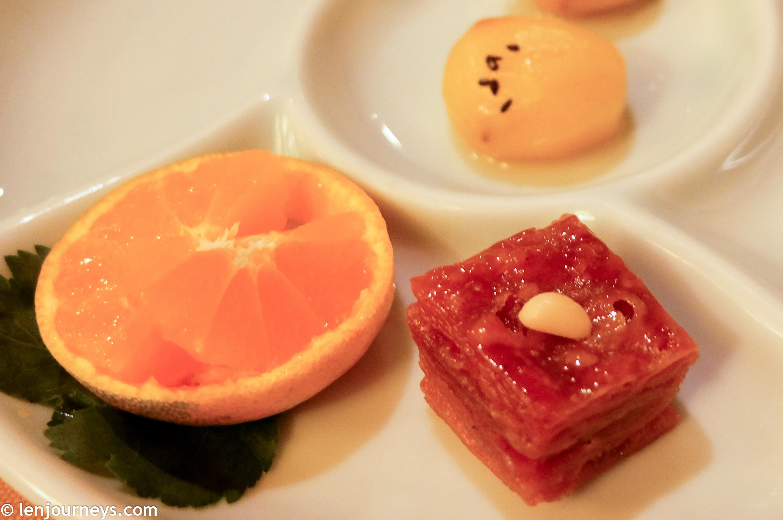 Yakwa & Jeju tangerine