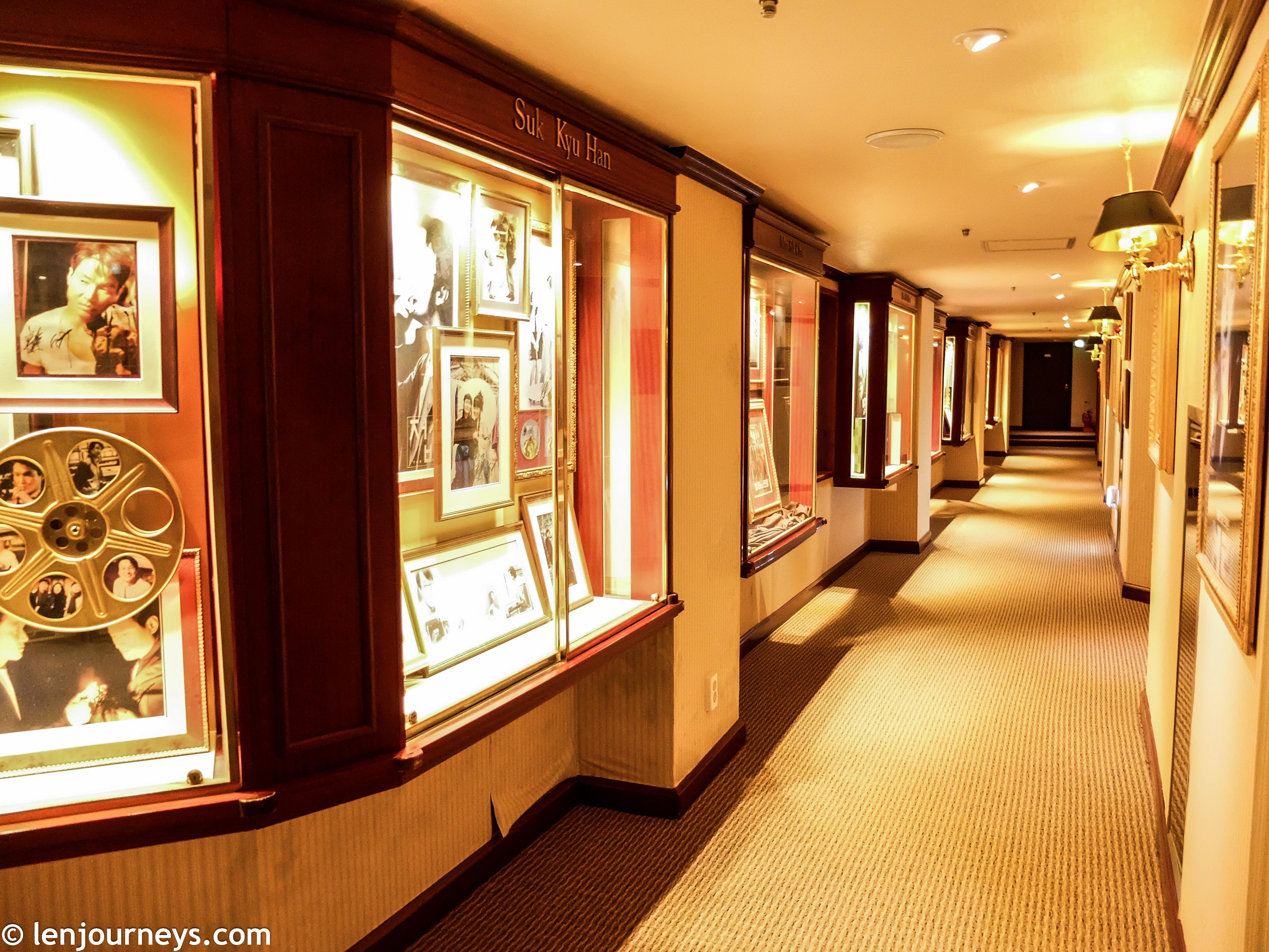 The hallway of Kensington Star Hotel