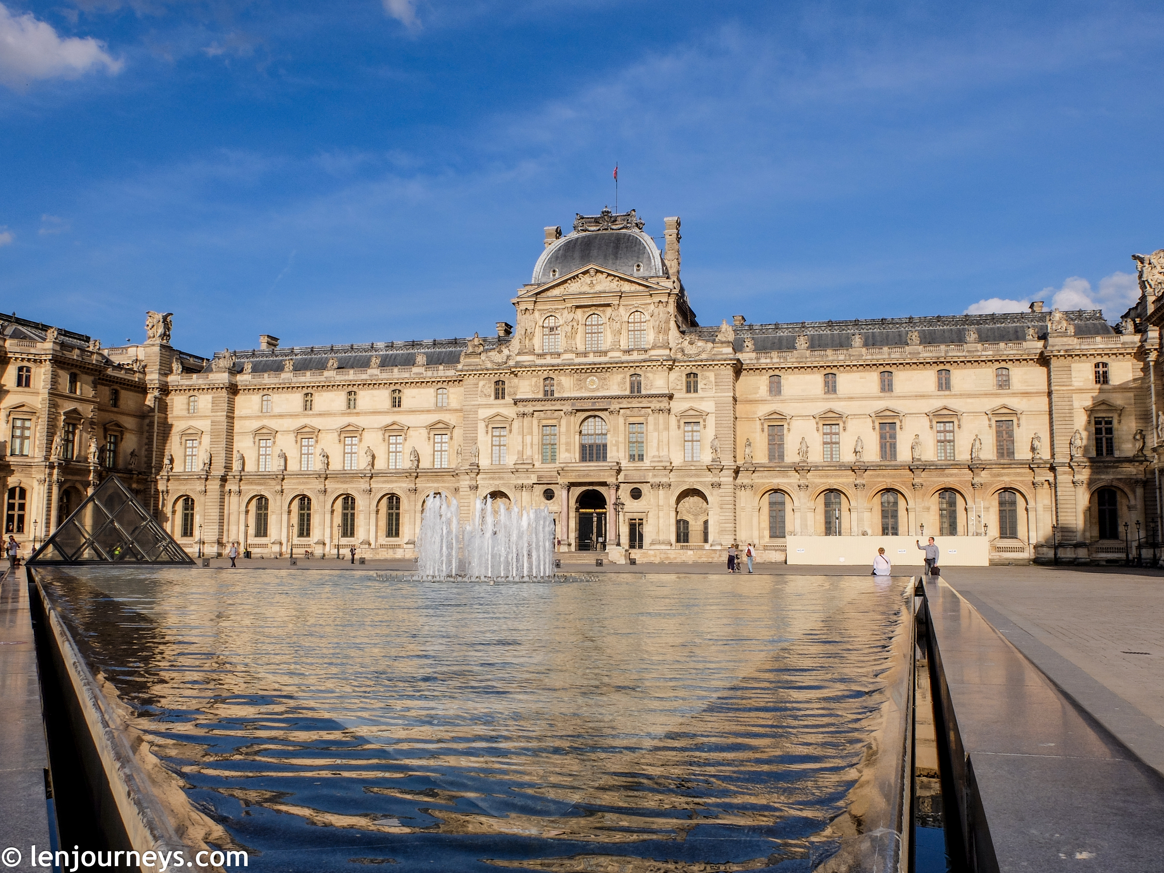 A wing of the Louvre